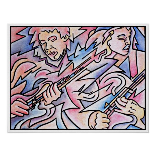 Guitar Duel Poster
