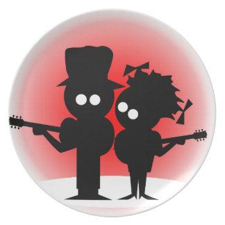 Guitar Duo Plate