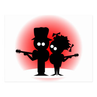 Guitar Duo Postcard