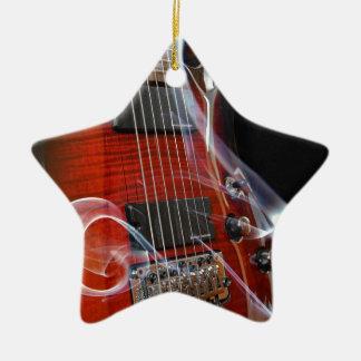 Guitar Eight Strings Seven-String Guitars Ceramic Ornament