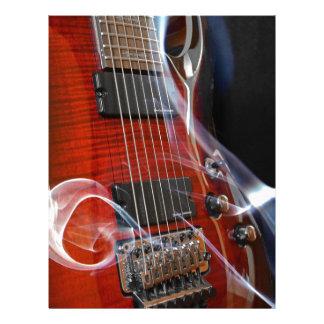 Guitar Eight Strings Seven-String Guitars Letterhead
