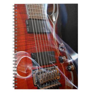 Guitar Eight Strings Seven-String Guitars Notebook