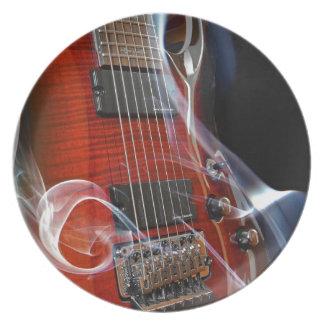 Guitar Eight Strings Seven-String Guitars Plate