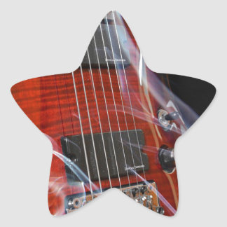 Guitar Eight Strings Seven-String Guitars Star Sticker