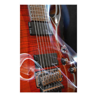 Guitar Eight Strings Seven-String Guitars Stationery