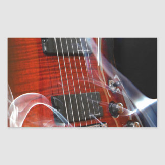 Guitar Eight Strings Seven-String Guitars Sticker