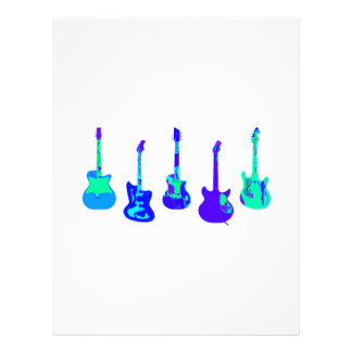 Guitar Ensemble Letterhead