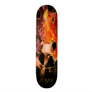 Guitar Eruption Skateboard Decks