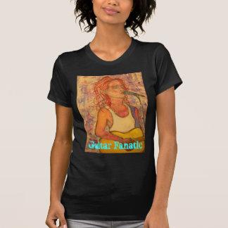 Guitar Fanatic Girl Tee Shirts