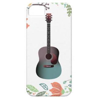 Guitar Flower Ring iPhone 5 Case