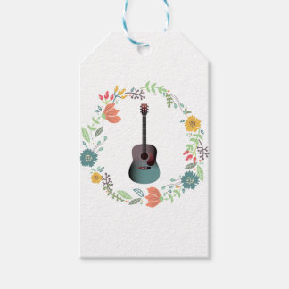 Guitar Flower Ring Pack Of Gift Tags
