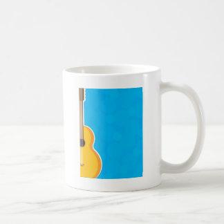 Guitar Frame Classic White Coffee Mug
