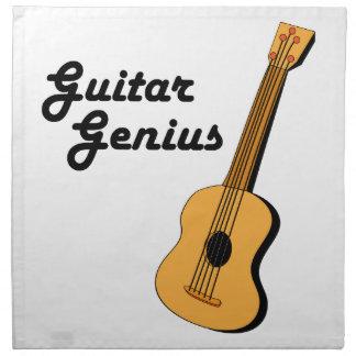 Guitar Genius Printed Napkin