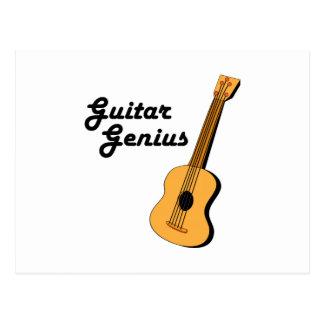 Guitar Genius Postcard