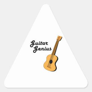 Guitar Genius Sticker