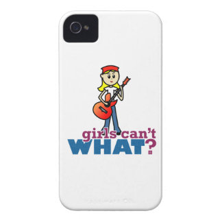 Guitar Girl iPhone 4 Cases