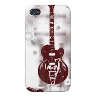 Guitar Graphic Red iPhone Case