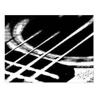 Guitar Greeting Postcard