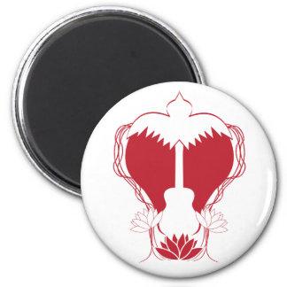 Guitar Heart Spirit Magnet