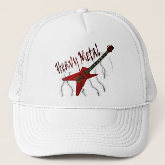 Guitar Heavy Metal Trucker Hat