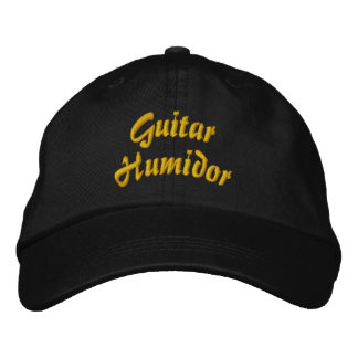 Guitar Humidor Embroidered Hat