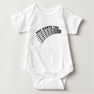 guitar humor baby bodysuit