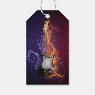 Guitar Ice and Fire Gift Tags