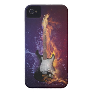 Guitar Ice and Fire iPhone 4 Case