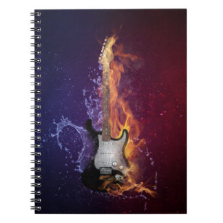 Guitar Ice and Fire Notebook