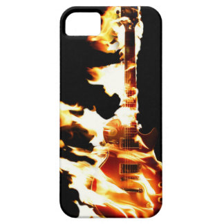 Guitar in Flames iPhone 5 Case