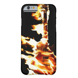 Guitar in Flames iPhone 6 case Barely There iPhone 6 Case