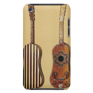 Guitar inlaid with mother-of-pearl, from 'Musical iPod Touch Case-Mate Case