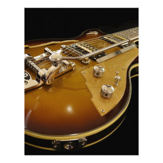 Guitar Instrument Music Rock Music Letterhead