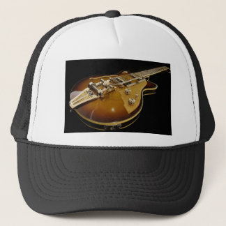 Guitar Instrument Music Rock Music Trucker Hat
