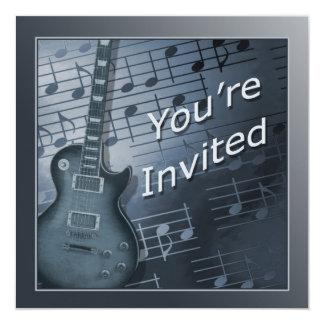 Guitar Invitations - Multi Use