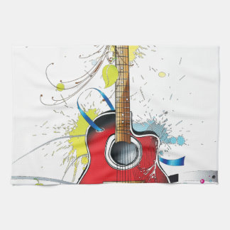 Guitar Kitchen Towel