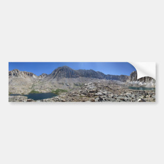 Guitar Lake and Mt Whitney - John Muir Trail Bumper Sticker