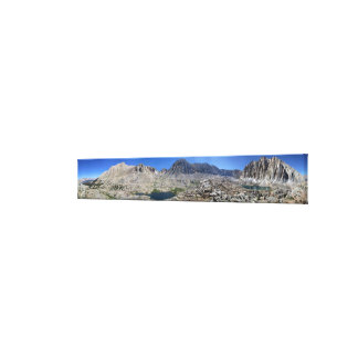 Guitar Lake and Mt Whitney - John Muir Trail Canvas Print