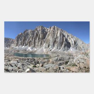 Guitar Lake and Mt Whitney - John Muir Trail Sticker
