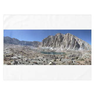 Guitar Lake and Mt Whitney - John Muir Trail Tablecloth