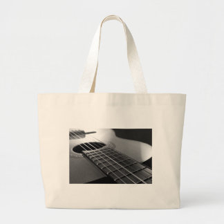 Guitar. Large Tote Bag