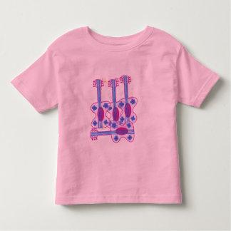 Guitar little girl shirt