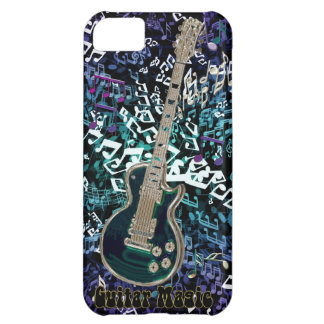 Guitar Magic ~ Chaotic Notes with Electric Guitar Case For iPhone 5C