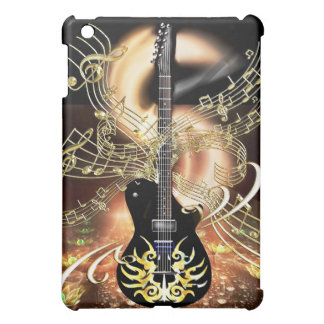 Guitar Magic Golden Notes Music iPad Mini Case