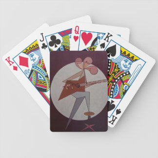 Guitar Man 1975 Bicycle Playing Cards