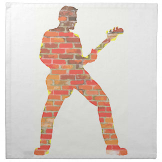 Guitar Man Napkin