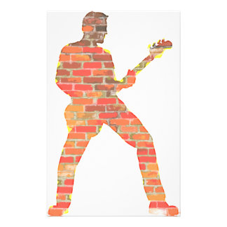 Guitar Man Stationery