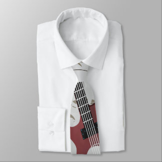 Guitar Men's Tie