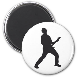 guitar more rocker 2 inch round magnet