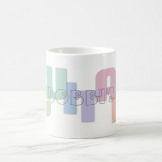 Guitar Music Typography Personalized Coffee Mug